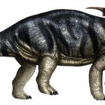 Achelousaurus walking scaled