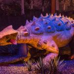 Ankylosaurus walking