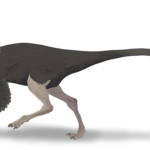 Archaeornithomimus walking