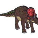 Avaceratops staring