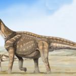 Camarasaurus mother and baby