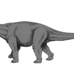 Cetiosaurus walking