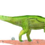 Dryosaurus walking
