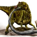 Edmontosaurus murder