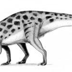 Erlikosaurus walking