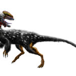 Guanlong scary look scaled