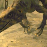 Herrerasaurus running