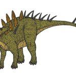 Kentrosaurus model