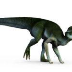 Lambeosaurus running