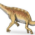 Lambeosaurus walking