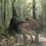 Monolophosaurus sharp teeth
