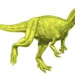 Monolophosaurus walking