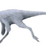 Ornithomimus left view
