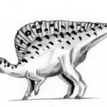 Ouranosaurus left view