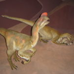 Oviraptor laying eggs
