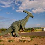 Parasaurolophus standing