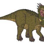 Pentaceratops walking