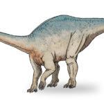 Riojasaurus walking