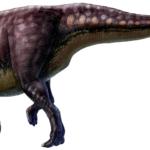 Saurolophus walking
