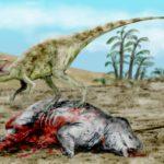 Staurikosaurus hunting