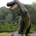 Tarbosaurus at the zoo scaled