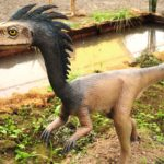 Troodon in the park scaled