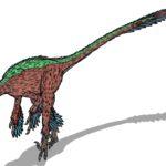 Troodon running