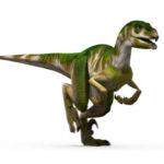 Utahraptor running