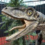 Velociraptor open mouth