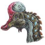 corythosaurus head