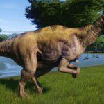 corythosaurus running