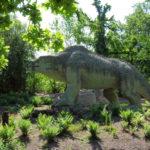 megalosaurus in the park