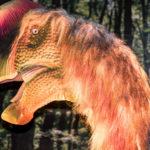 oviraptor head scaled