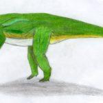 Guaibasaurus drawing
