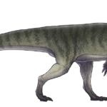 Jingshanosaurus walking