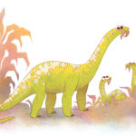 Kotasaurus mom and babies scaled