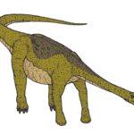 Nemegtosaurus long tail scaled