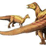 Nipponosaurus mom and baby