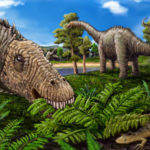 Quaesitosaurus eating