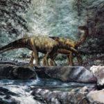 yunnanosaurus drinking